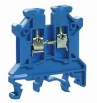 Din Rail Connectors Blue