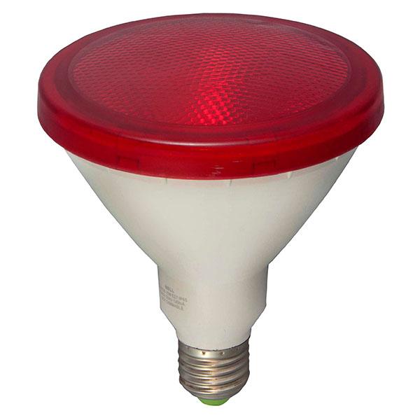 BELL 05652 LED ES PAR38 15W 240V Red