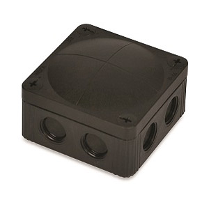 Wiska 10060580 Box 308/5 Black IP67
