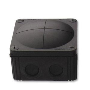 Wiska 10060581 Box 308/LEER Empty Black
