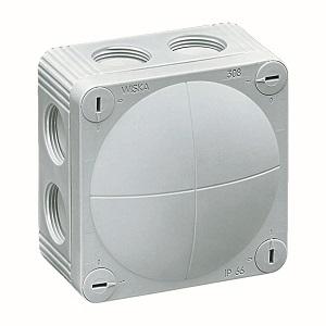 Wiska 10060611 Box 308/5 White IP67