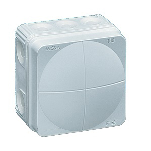 Wiska 10060623 Box 108/5 White IP66