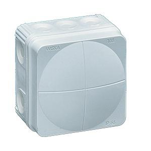 Wiska 10060623 Box 108/5 White IP66