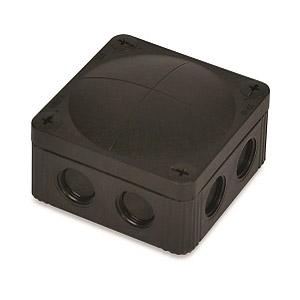 Wiska 10061779 Box 607/5 Black IP67