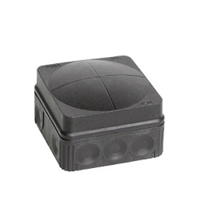 Wiska 10061998 Box 108/5 BLK IP66