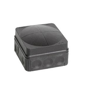 Wiska 10061998 Box 108/5 Black IP66