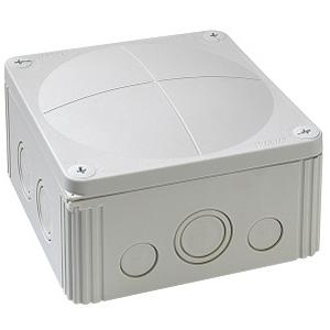 Wiska 10062215 Box 1010/5 Black IP67