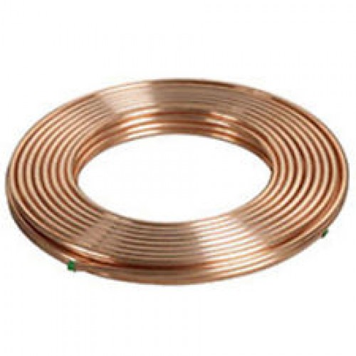 Copper Tube Soft Coils 1/4 (6.4) 15Mtr