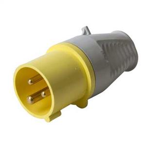 Walther 210304 Plug 16A 110/130V 2P+E  IP44