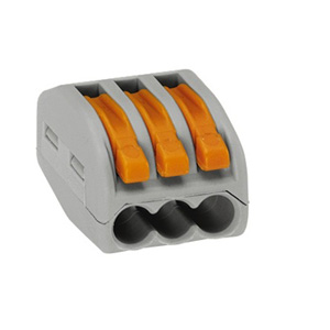 Wago 222-413 Connector 3 Conductor Grey