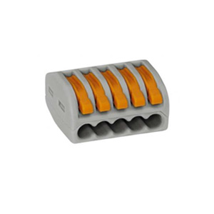 Wago 222-415 Connector 5 Conductor Grey