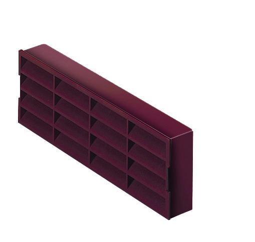 NVA MONV704BR Brn A/Brick Fsc Polyvent