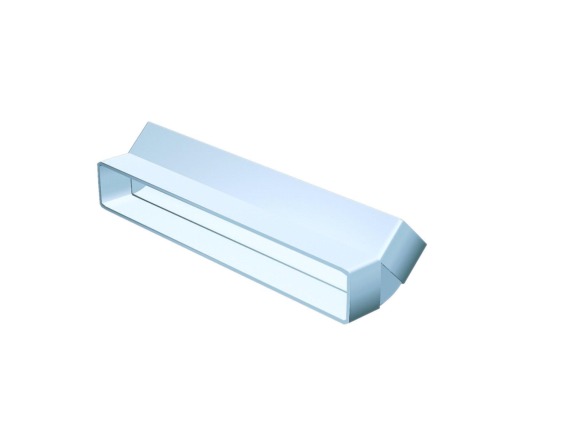 NVA 3011 Polyvent 300 45Deg Vert Bend