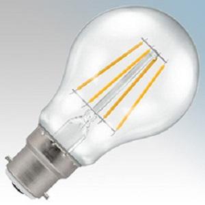 Crompton 4207 LED BC-B22d 7.5W 2700K Clr