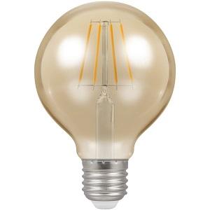 Crompton 4276 LED G80 Globe ES E27