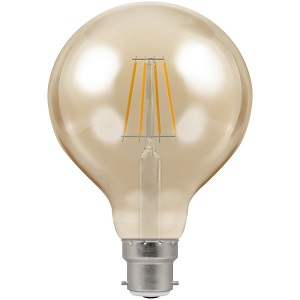 Crompton 4283 LED G95 Globe BC-B22d