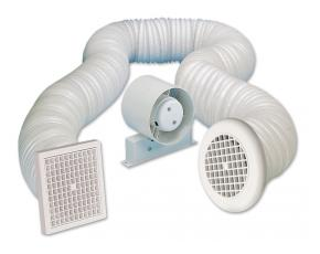 Anda 405682 100mm Shower Fan Timer Kit *