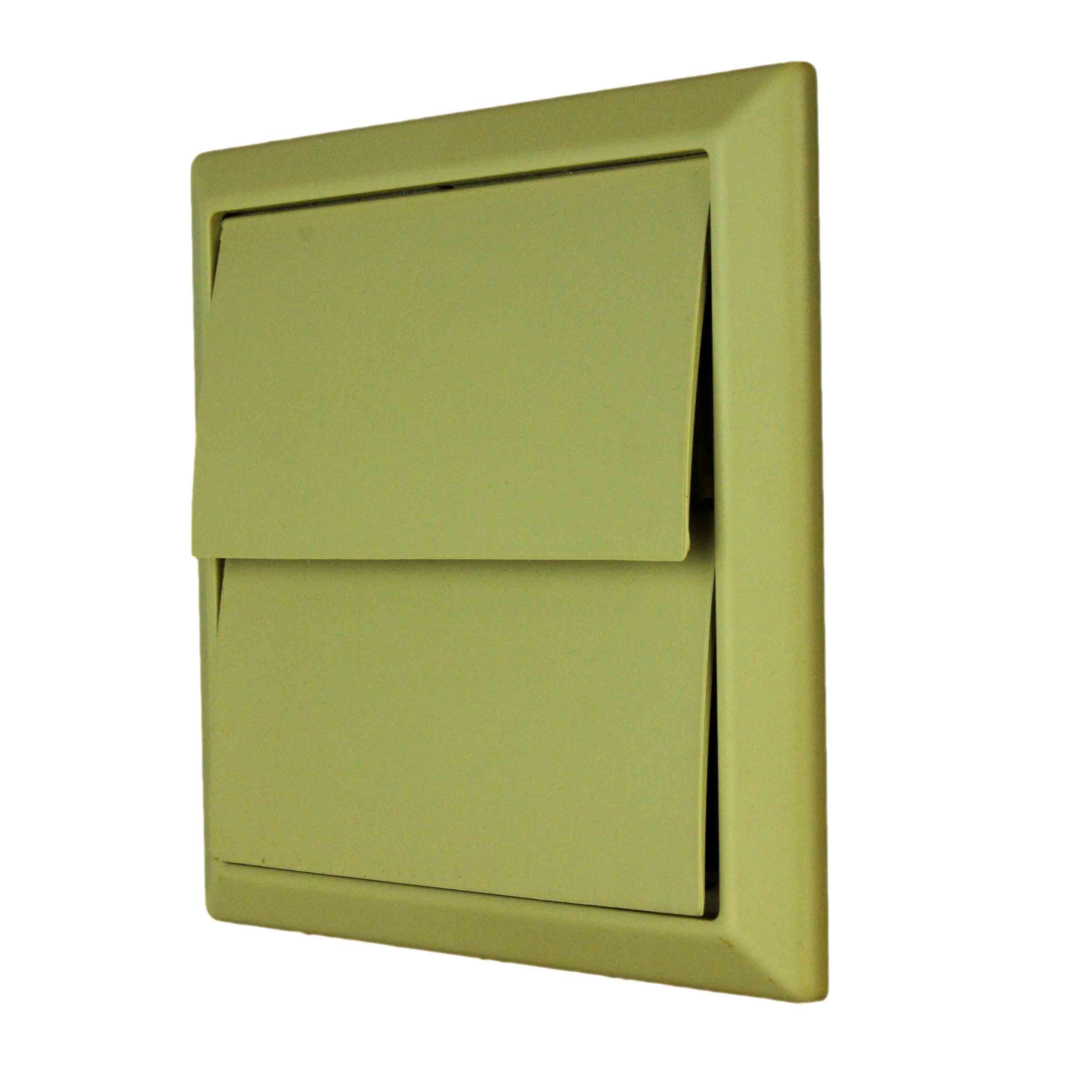 NVA 4900C 100mm Beige Gravity Wall Outlet
