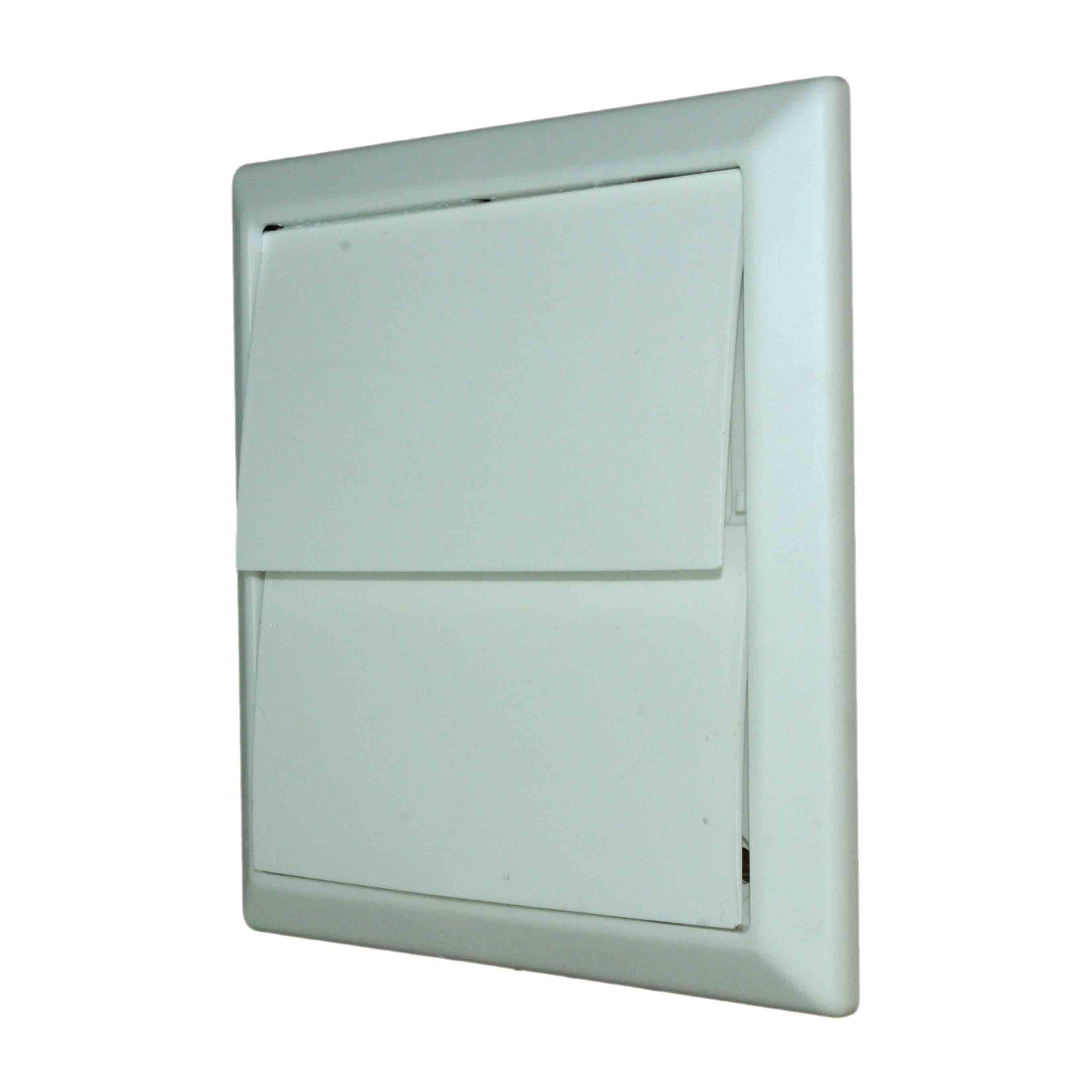 NVA 4900W 100mm White Gravity Wall Outlet