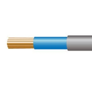 Meter Tails Blue/Blue 25mm