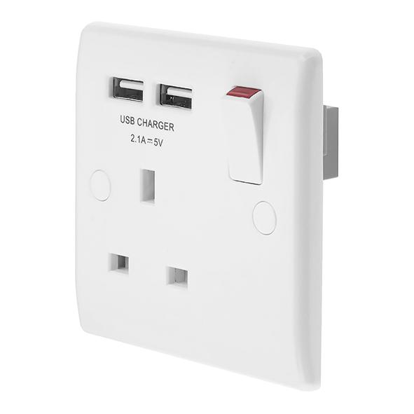 BG 821U Socket Swd   USB 13A