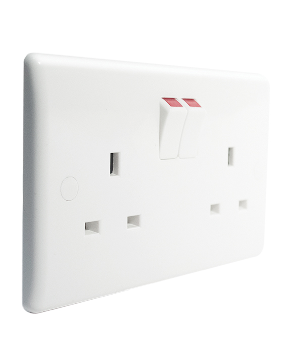 BG 822DP Socket Outlet DP Switched 13A