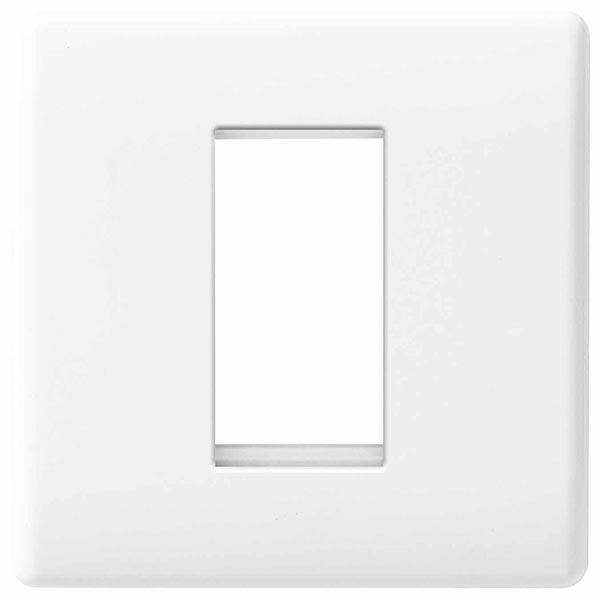 BG 8EMS1 Frontplate 1 Module Square