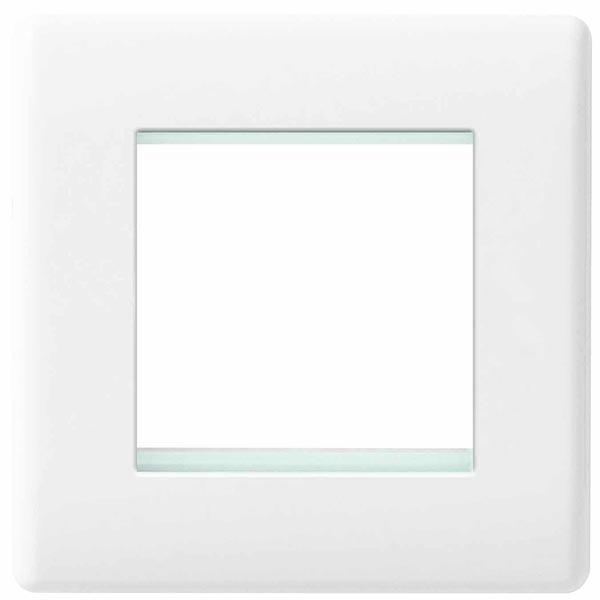 BG 8EMS2 Frontplate 2 Module Square