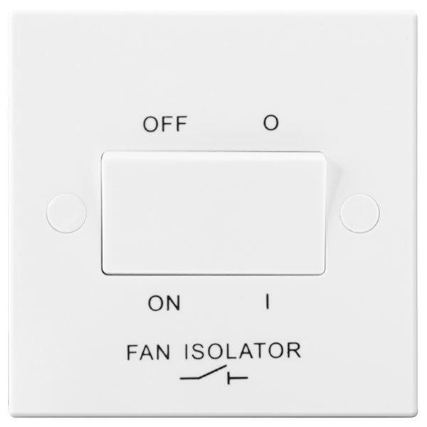 BG 915 Plateswitch Fan Isolator TP 10A