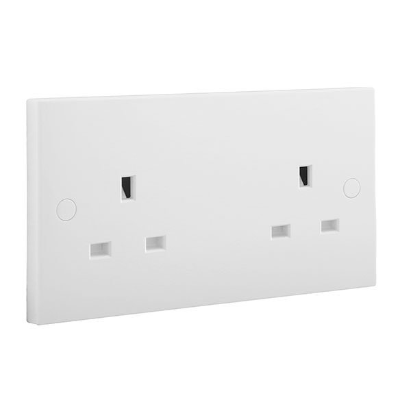 BG 924 Socket Unswitched 2x13A
