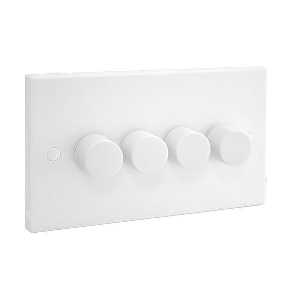 BG 984P Dimmer Switch Push 2Way 4x400W