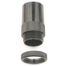 U/Volt AMT/LR25BK Male Adaptor 25mm Blk