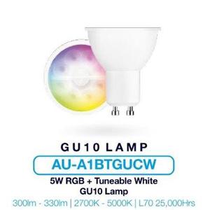 Aurora AU-A1BTGUCW GU10 2700-5000K 5W