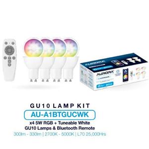 Aurora AU-A1BTGUCWK GU10 Kit 300lm 5W