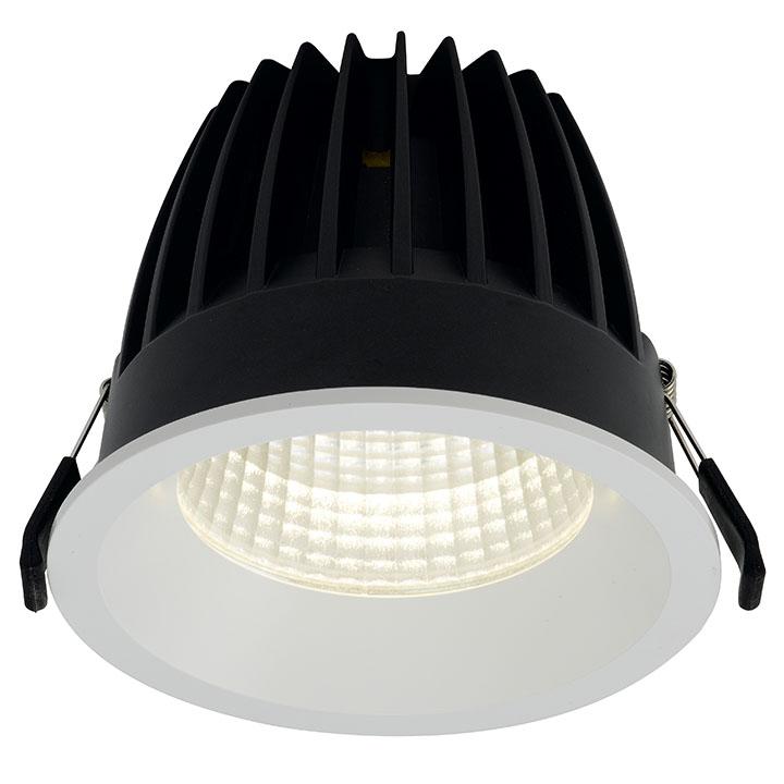 Ansell AULED125D/M3 Dwn/lgt C/W LED 18W