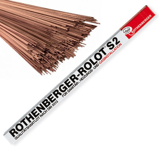 Rothenberger Rolot S2 Brazing Rod 1kg *