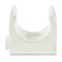 U/Volt CL25WH Clip 25mm White