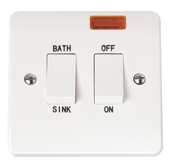 Click CMA024 Switch DP Sink 20A Whi