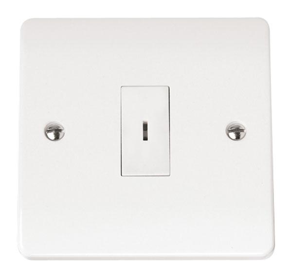 Click CMA026 Plateswitch 1G 2W Key Whi