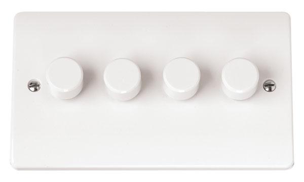 Click CMA148 Dimmer Switch 4x250Va Whi