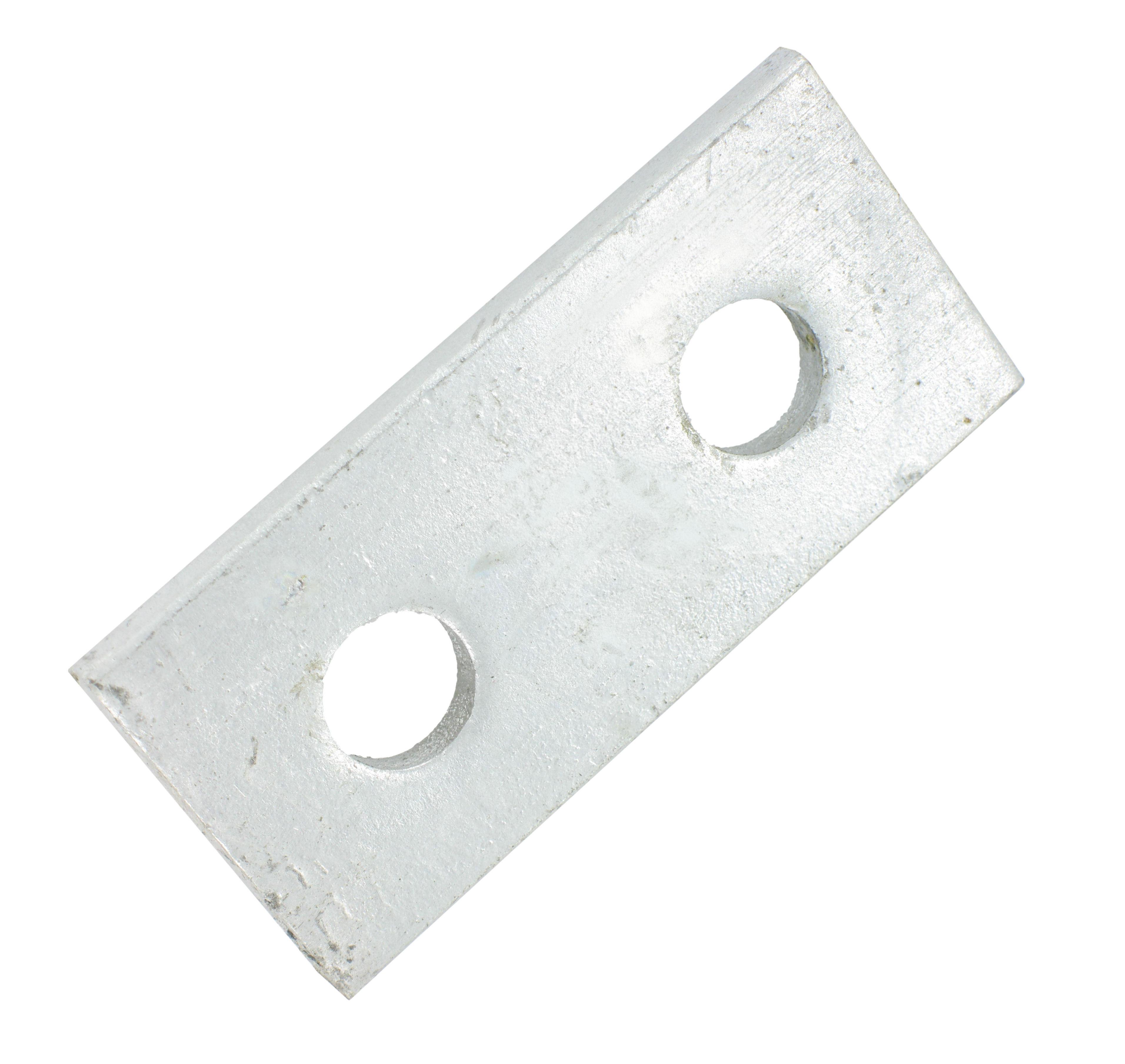 Deligo D507 Splice Plate 2 Hole Galv