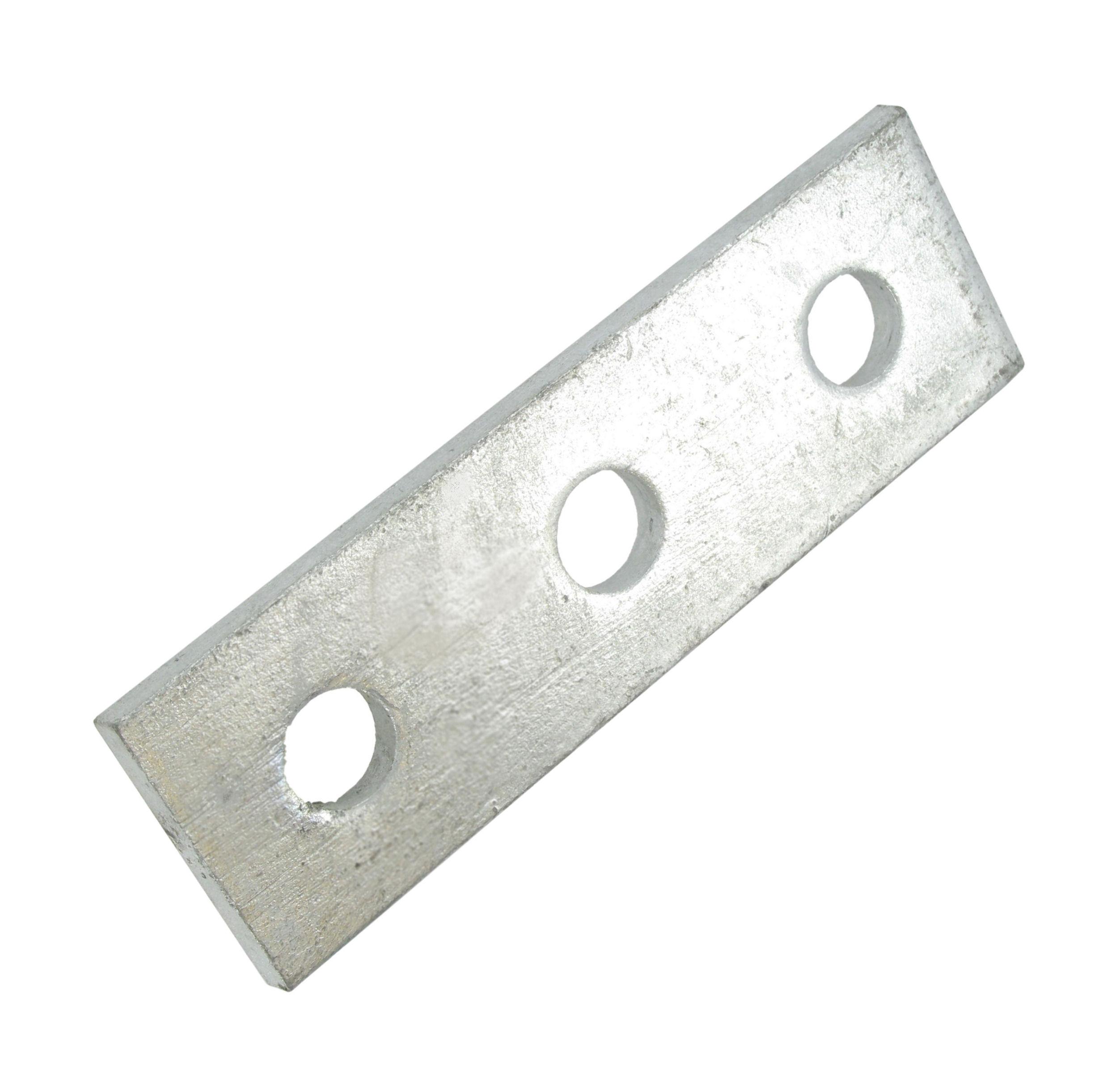 Deligo D508 Splice Plate 3 Hole Galv