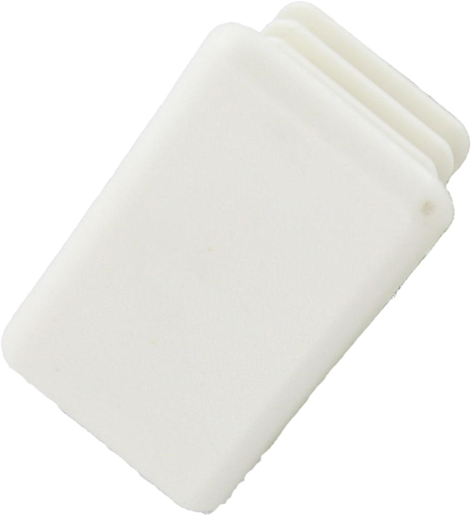 Deligo DC950W Channel End Cap 41mm Whi