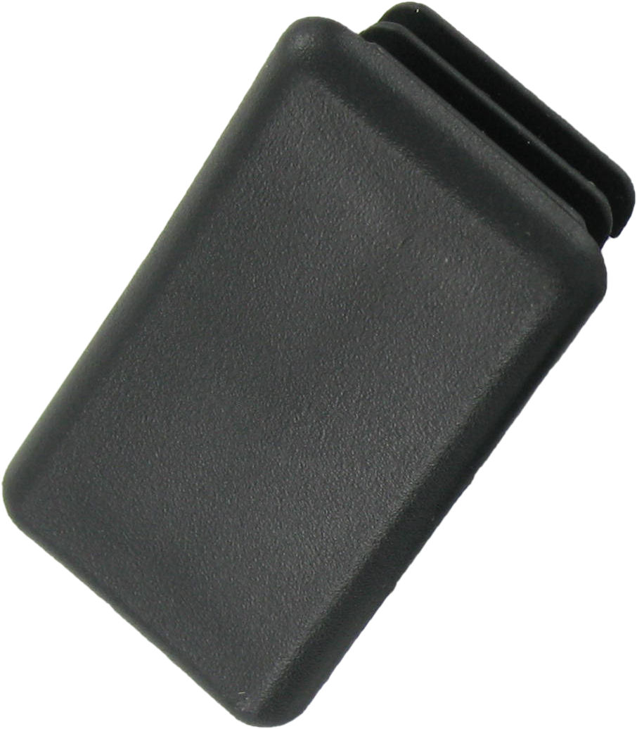 Deligo DC951B Channel End Cap 21mm Blk