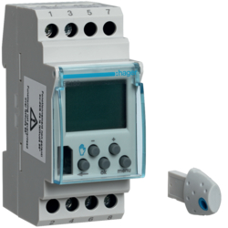Hager EE180 1 Channel Timeclock