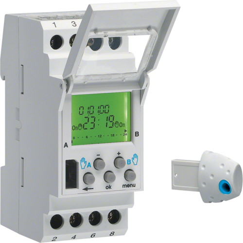 Hager EE181 2 Channel Timeclock