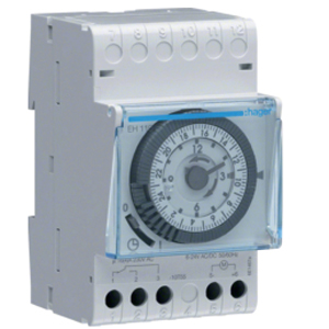 Hager EH110 Time Switch 1CH Daily