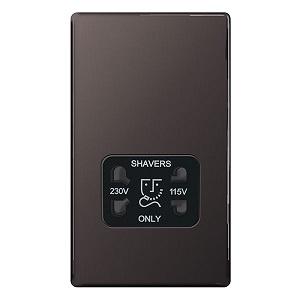 BG FBN20B Shaver Socket 115/230V