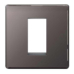 BG FBNEMS1 Frontplate 1 Module Square