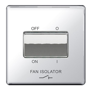 BG FPC15 Plate Switch Fan Isolator 10A